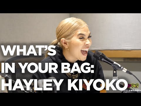 Hayley Kiyoko shows Whats in her Bag + Details on her NEW ALBUM 'Expectations'