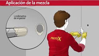 Aplicación de Pegamento Epoxi Protex 215