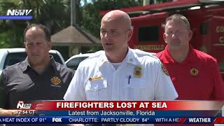 LOST AT SEA: The latest on missing firefighters in Florida