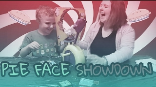 Pie Face SHOWDOWN Winners get a minecraft and roblox blind box / Junior Vision