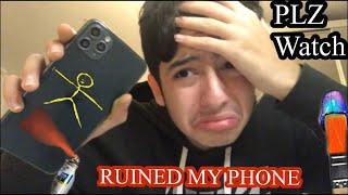 Custom IPhone 11 (Giveaway) (I ruined my iPhone) (custom iPhone 11)
