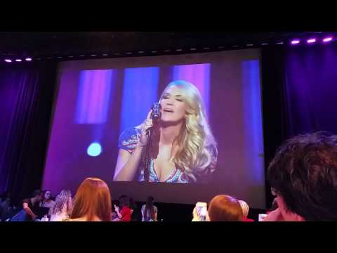 Carrie Underwood Wasted Backstage at the opry