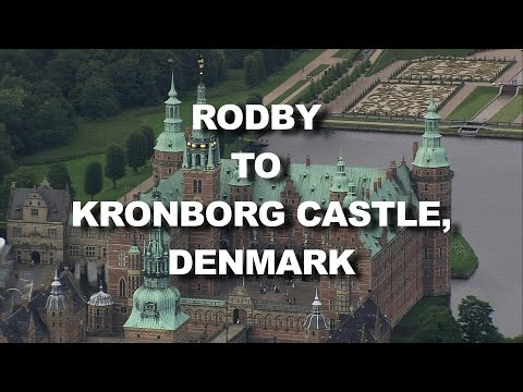 Denmark: From Rodby Harbour to Kronborg Castle (World From Above HD)