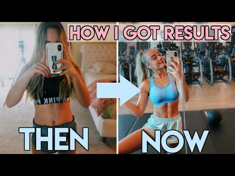 MY FITNESS JOURNEY | how i toned my body, workout routine & body image