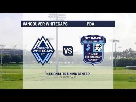Live Video: Development Academy Semifinals - U-17/18: Vancouver Whitecaps vs. PDA