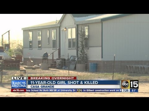 11-year-old Girl Shot And Killed In Casa Grande