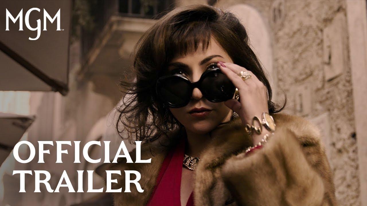 House of Gucci trailer met Lady Gaga & Adam Driver