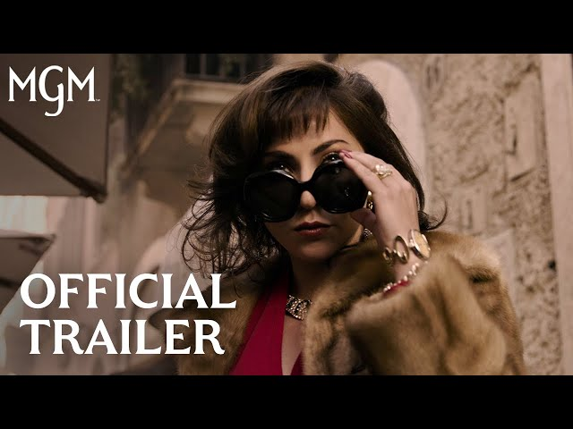 HOUSE OF GUCCI   Official Trailer   MGM Studios