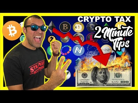 2 Minute Crypto Tax Tip Tax Reform Fallout in Trade CryptoCurrency Crypto Market Like Kind Exchanges