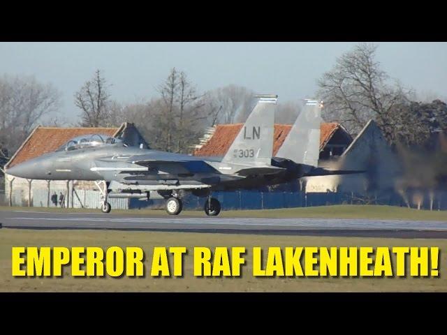 F-15 Eagles & Mud Hens at RAF Lakenheath 29th Dec 2016 | GR meet