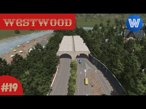 Highway Tunnel | Cities Skylines: Westwood (Episode 19) |