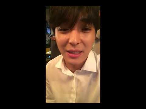 DJGlory Instagram live with Jonghoon 170811