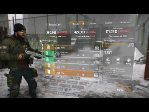 The Division   Finally Got my 3rd Barrett's Chest-piece!!!