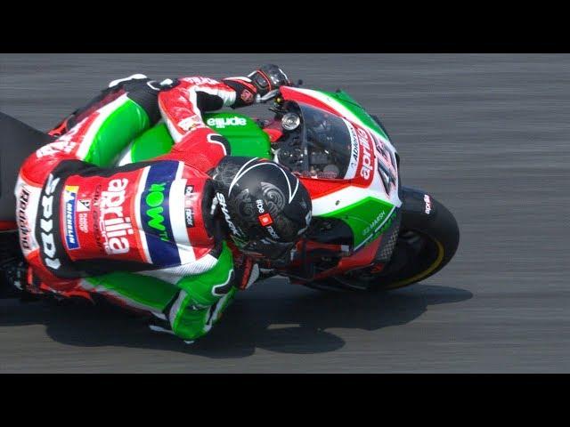 Aprilia in action: 2018 PTT Thailand Grand Prix