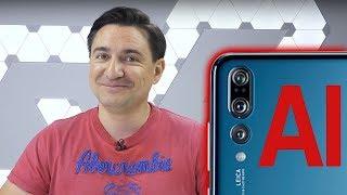 Ce înseamnă Inteligența Artificială pe un Huawei P20 Pro