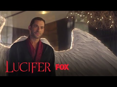 Lucifer Shows Linda That His Wings Have Grown Back | Season 3 Ep. 1 | LUCIFER