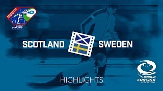 HIGHLIGHTS: Scotland v Sweden - World Mixed Doubles Curling Championship 2018