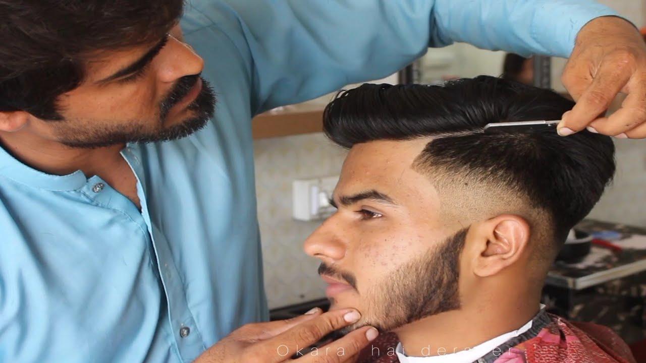 Lates  HAIR Cut FOR Man2021 New STYLE Beard Cut👌By Okara Salon