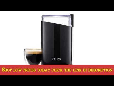 Details KRUPS F203 Electric Spice and Coffee Grinder with Stainless Deal
