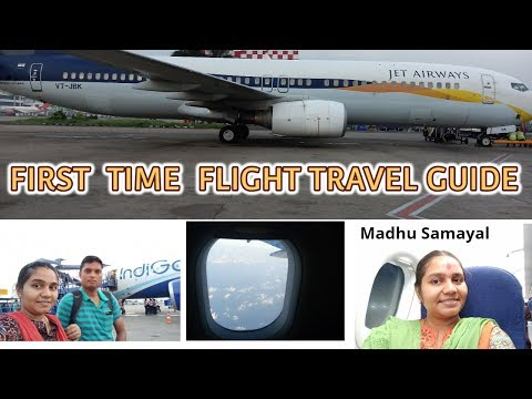 First Time Flight Travel Guide from my Experience