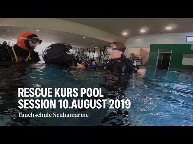 PADI Rescue-Kurs bei der Tauchschule Scubamarine aus Ulm