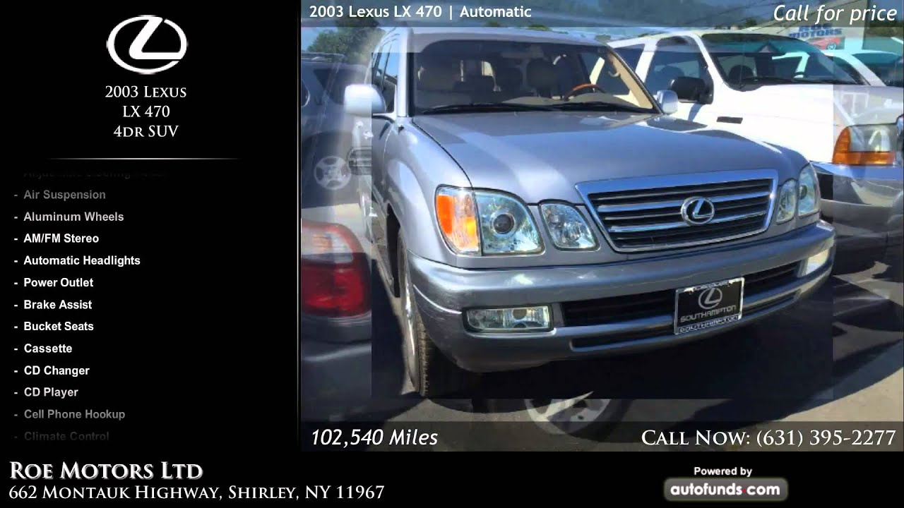 Used 2003 Lexus LX 470