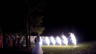 Фейерверк на свадьбу. Орел.