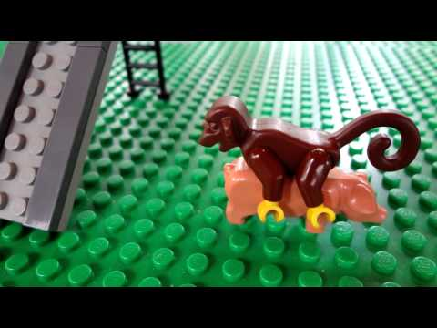 Baby Monkey (In Lego!)