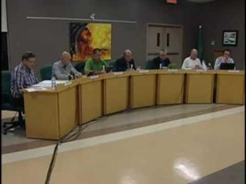 Réunions Publiques - Conseil municipal de L'Ange-Gardien - Novembre 2013