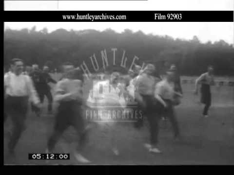 Welsh Guards sports, 1927.  Archive film 92903