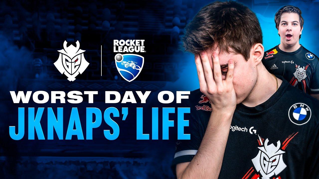Worst Day of JKnaps' Life | RLCSX Regional 3 Voicecomms & Moments