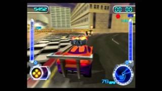Hot Wheels Velocity X HD 100% Walkthrough W/Commentary - Joyride: Monument city