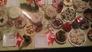 Праздничный стол к Новому Году /Меню на новый год