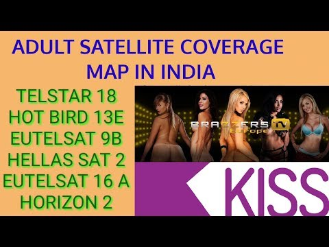 ADULT CHANNEL SATELLITE COVERAGE IN INDIA | पूरी जानकारी | Map With Footprint
