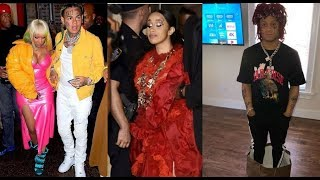 Trippie Redd Defends Cardi B in the fight w/ Nicki Minaj. 6ix9ine says Nicki Minaj still the Queen!