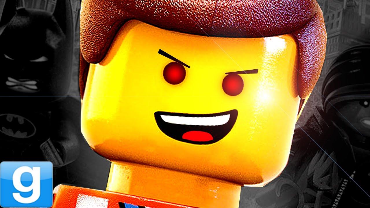LEGO MURDER!! Gmod Lego City Map (Garry's Mod)