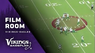 Film Room: Vikings QB Kirk Cousins Will Need To Get The Ball Out Quickly vs. the Philadelphia Eagles