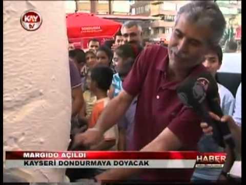 Margido Dondurma Kayseri Şubesi Açıldı