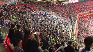 Stimmung Hertha BSC in Bilbao