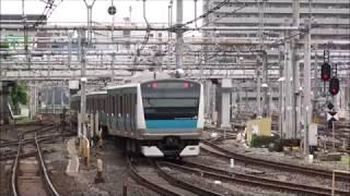 【HD】京浜東北線 線路切換日 上野折返し電車 thumbnail