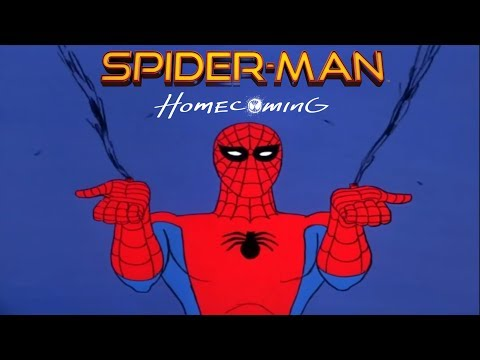 1967 SpiderMan Intro with 2017 Homecoming Remix Theme