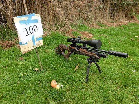 Long Range Sub 12 FT/LB Air Rifle Shooting - The Egg Challenge !