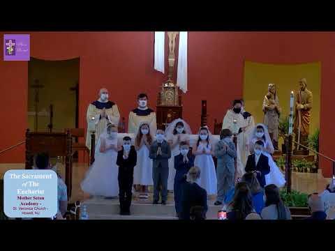 First Communion Mass - Mother Seton Academy