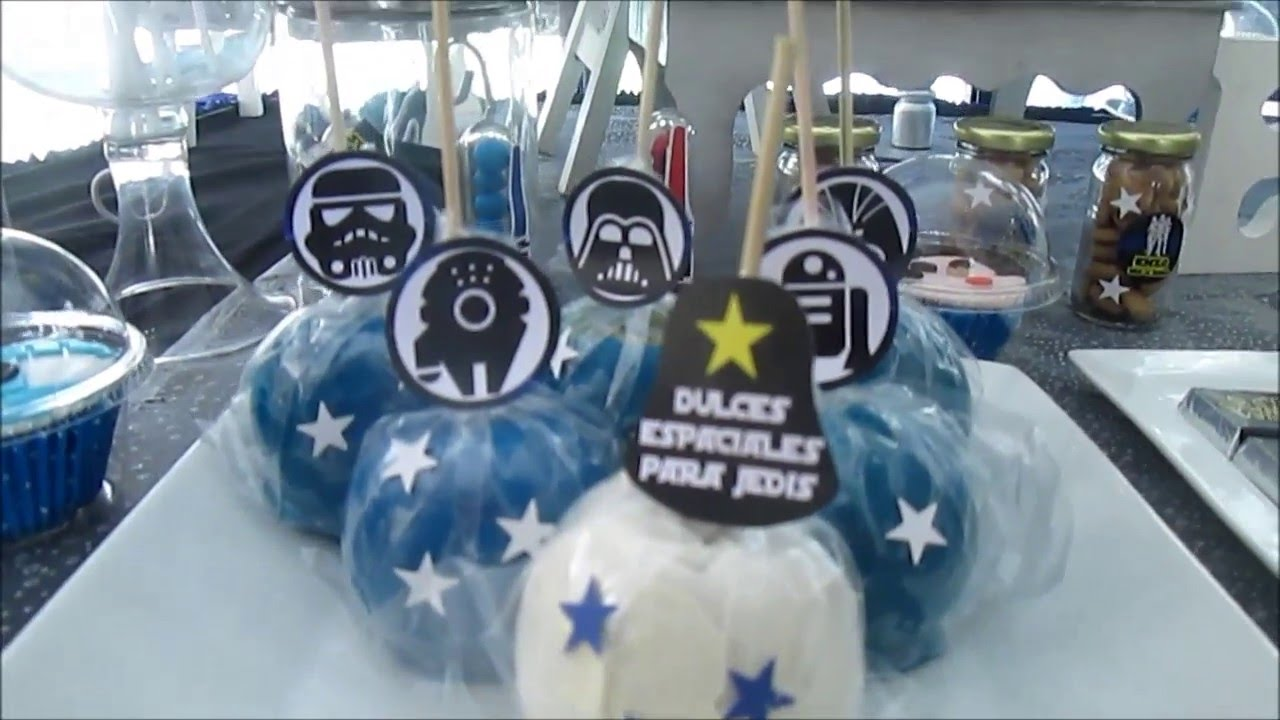 Decoraci n star wars enzo decoraciones tem ticas delis for Decoracion star wars