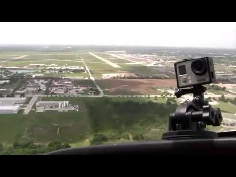 Ellington Field Visit & Flight Over Houston, TX