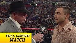 Santino Marella's WWE debut