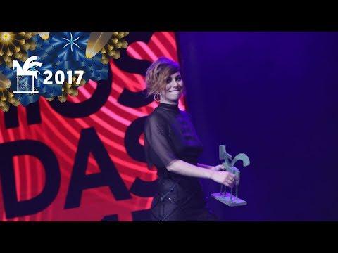 Blanca Suárez, mejor intérprete femenina de ficción | Premios Ondas 2017