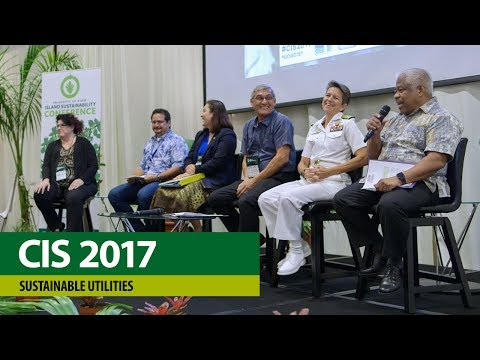 CIS Conference 2017 – Sustainable Utilities, Plenary Panel