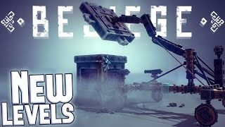 Besiege Gameplay Highlights - New Game Levels - Tolbrynd Complete! - Besiege Building