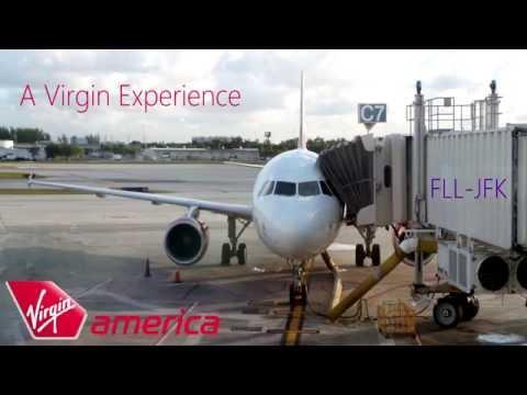 Virgin America Trip Report  FLL-JFK